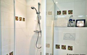 maison hote Finistere douche
