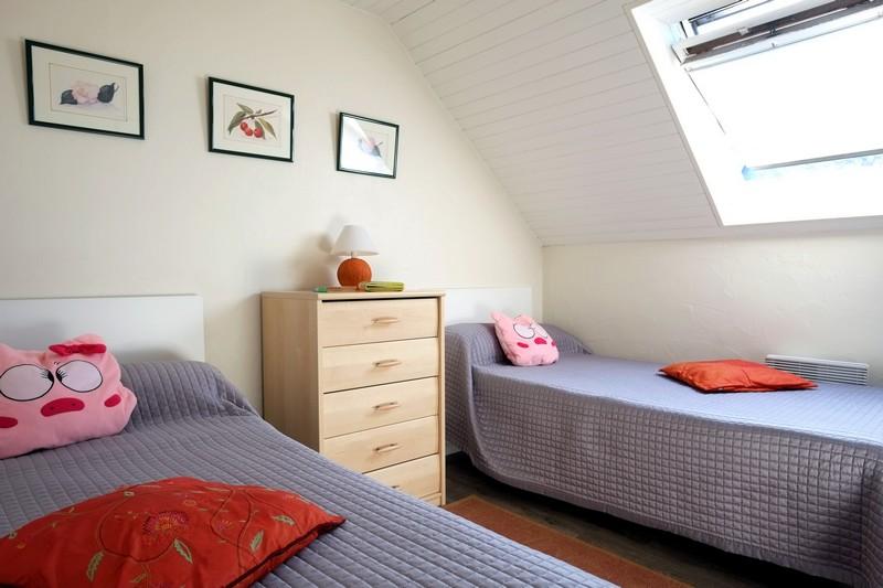 Gite 9753 en Bretagne - Chambre deux lits