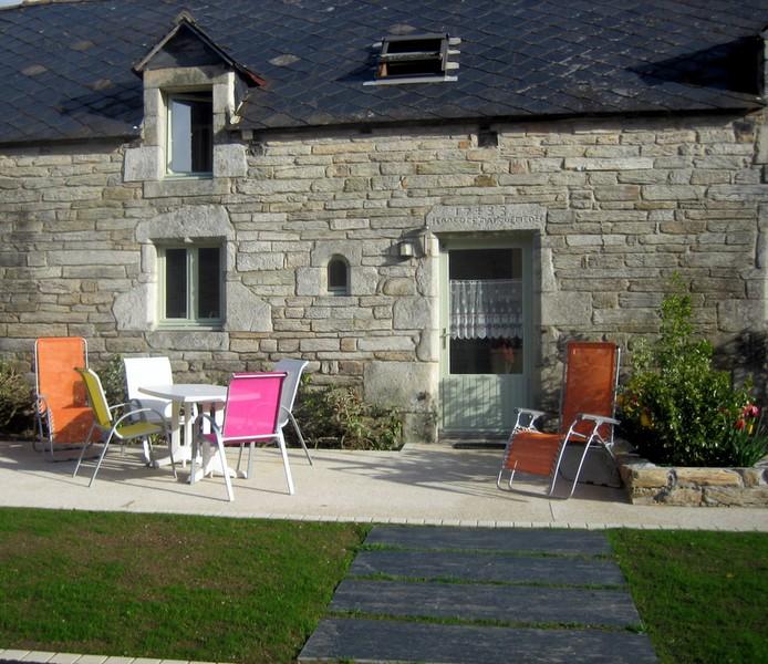 Gite de Suzette : Terrasse du Gite