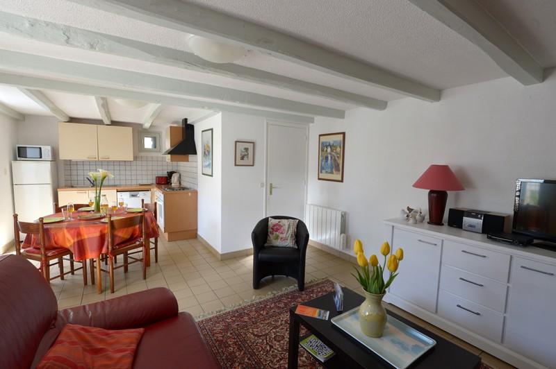 Gite Bretagne - Cuisine et salon