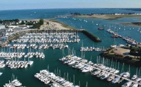 Port la Foret, fameux port de Bretagne