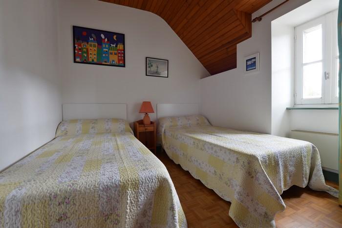 Gites en Bretagne: La chambre deux lits