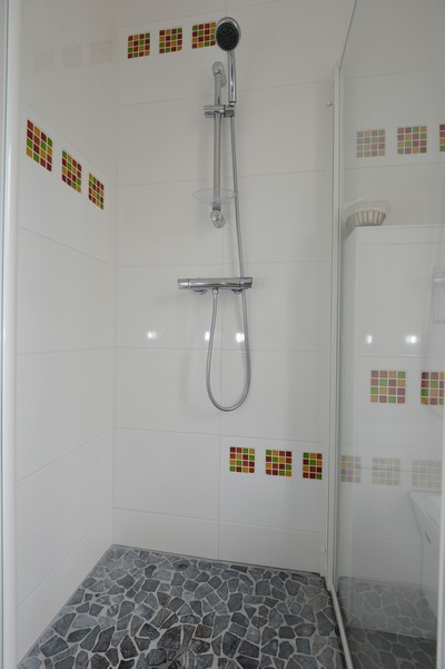 Chambre chez l'habitant : la douche