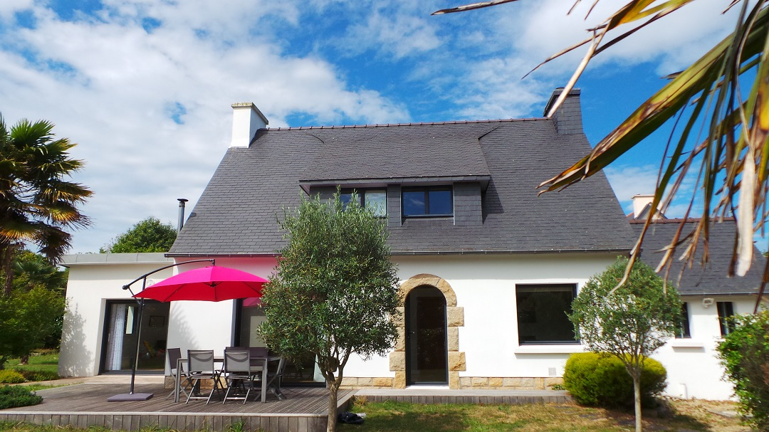 Maison Fouesnant Famille Sud Finistere